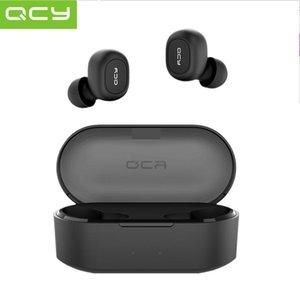 QCY T2C TWS Bluetooth V5.0 Наушники Стерео 3D Спортивные беспроводные наушники с микрофоном Dual