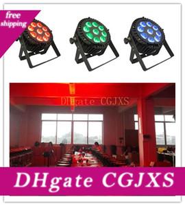 4pieces 9x10w Rgbw Led piatto luce par Led Par Outdoor impermeabile Mini Led Par Can
