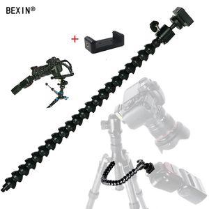 플래시지도 Light 미사용 T191025 들어 Cgjxsflexible 팔 굴절 식 라이트 스탠드 DSLR 카메라 브라켓 어댑터 장착 핫 슈 홀더