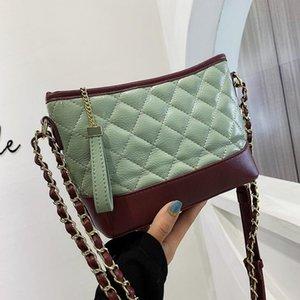 2020 Fashion Women Backet Bag Verifique alta qualidade Crossbody Senhora pequena bolsa de couro Bolsas de Ombro
