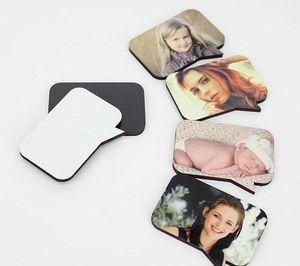 New Dye Sublimation Wooden Custom Refrigerator Magnet Hot Transfer Printing Blank Mdf Fridge Magnets Designer Diy Home Decor