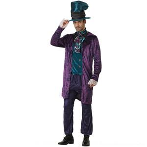 MWjoT Sıcak aşınma satış aşınma Şapka dram kıyafeti çılgın şapka Kral Kraliçe takım sahne çift performans elbise çift