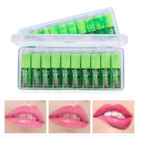 2020 Питательные Защищаем губы Жидкость Блеск для губ Женщины Алоэ Вера растений Прозрачный Натуральный Увлажняющий Глянцевый блеск для губ