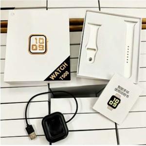 ساعة ذكية T500 بلوتوث نداء 44mm والضغط الذكية للياقة البدنية المسار النوم المقتفي ووتش رصد معدل ضربات القلب الدم VS PK IWO12 IWO8