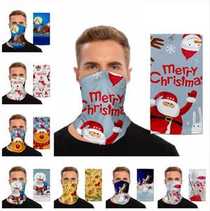 Natale magico Turbante Outdoor Visiera Sport Ciclismo natale Sciarpa decorazioni alpinismo maschera facciale multifunzionale Copertura LJJP461