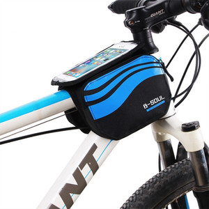 Bicycle Bag Bike touch screen saddle Bag MTB Bike Front Frame pouch Case for 5.7 inch phone Cycling Bicycle Top tube bags