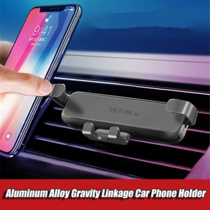 Gravity sensing Car phone Holder Car Air Vent Stand Car bracket For iPhone Samsung Xiaomi Steady Fixed Phone stent Auto Grip