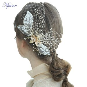 Capelli accessori nuziali dei capelli di moda decorare Wedding dei capelli Abito da Sposa Tiara donne Headwear Wedding Jewellery Hairpin nuziale