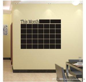سبورة 2019 جديد هذا الشهر ملصقات الحائط لاصقة خطة شهري التقويم السبورة ملصقات الحائط اللوازم المدرسية مكتب 46.5 * 58.5CM 001