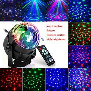 Uzaktan Kumanda için Noel Partisi Kulübü Projektör Via Express ile Taşınabilir Lazer Sahne Işıkları Disco RGB Yedi modu Aydınlatma Mini DJ Lazer