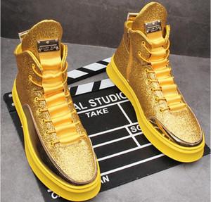 autumn new men's Casual shoes high tops designer sneakers Hip hop men's board shoes zapatillas hombre
