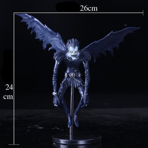 2020 الجديد مذكرة الموت L Ryuuku ريوك PVC الشكل العمل منتديات المجموعة نموذج لعبة الدمى 24CM