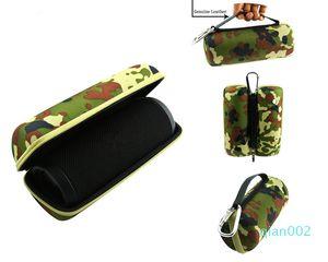 DHL Livraison gratuite Carry Housse de protection Housse Sac Voyage pour Haut-parleur Bluetooth Camo Noir disponible