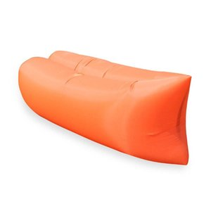 Outdoor Lazy Inflatable Sofa Inflatable Bed Portable Air Sleeping Bag Outing Single Folding Camping Air Cushion Floating Bed