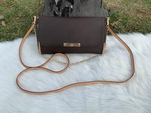 2020 del progettista del cuoio di alta qualità delle signore della borsa rotonda Hollow Shoulder Bag Messenger Bag Catena Bag