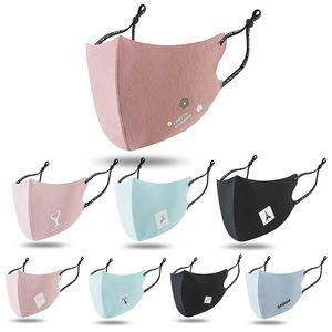 Nouveau design visage masque de soie glace masque réutilisable oreille élégante boucle réglable à la mode et durable masque de tissu froid