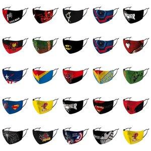 Old Man Captain America Masque Paquet individuel Masque réutilisable Masque lavable mode Old Man Festival meilleur authentique Royaume-Uni