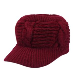 New vazio Top Sports Gorro para mulheres senhora do crânio do Beanie chapéu morno Lady menina de esqui de Inverno Caps