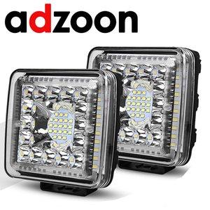 ADZOON Side Shooter LED Pods 4inch 231W 12v 24v for Off Road Truck Bus Boat Fog Light Car Assembly