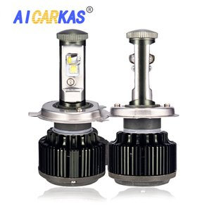 AICARKAS V16 السوبر مشرق السيارات توربو LED العلوي H4 H1 H7 H11 3 9005 4 9006 رقائق XHP50 استبدال لمبات 6000K 10000LM