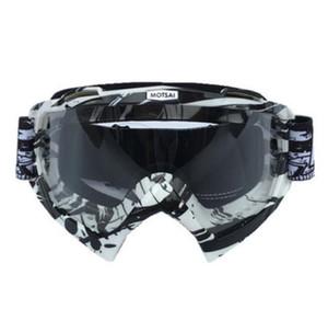 Взрывные мотокросс шлет очки мотоцикл ветровых зеркала лыжных очков езды очки спуск