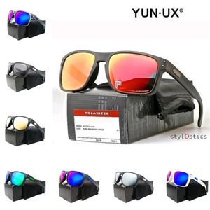 Moda óculos personalizados de Nova homens fumam Quadro Matte Black lente polarizada YO9102 de alta qualidade Outdoor Óculos frete grátis Atacado