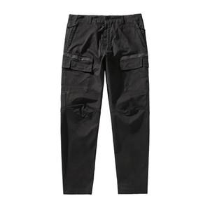 2020CP topstoney PIRATA COMPANY konng gonng Primavera e Outono marca nova moda casual calças macacões versão dos homens altos