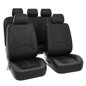 Coperchi sedili per auto Set completo - Ecopelle Automotive Front and Back Seat Protectors per auto camion SUV
