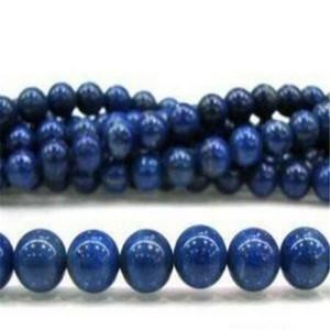 """2 pièces 6mm bleu égyptien Lazuli Lapis pierres précieuses rondes perles en vrac 15 """"brin"""