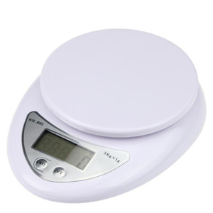 Portable 5kg 1g Digital Scale LCD Electronic Scales Steelyard 3kg 0.1g Kitchen Scales Postal Food Balance Measuring