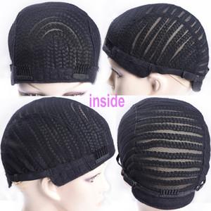 Томо 1шт Caps Black Super Elastic заплетать волосы в косички Cap для плетения крючком Braid парик для изготовления париков Самые продаваемые ткачество кос Cap парик Net