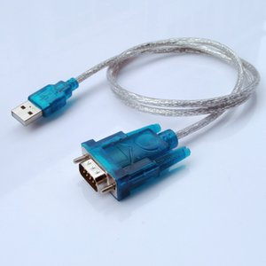 500 pcs New CH340 USB to RS232 COM Port Serial PDA 9 pin DB9 Cable Adapter Support Windows7 Wholesale