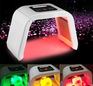 Vücut Cilt Güzellik Yüz Cilt Gençleştirme Akne tedavi salonu makine makyaj için YENİ Yüz Maskesi 4 LED Işık PDT foton TERAPİSİ fotodinamik
