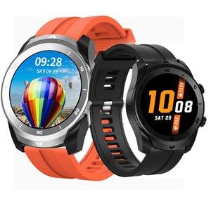 Torntisc 2020 Yeni Akıllı İzle Erkekler EKG + PPG Destek Telefon Görüşmesi HD Ekran 1.3 İnç Full Yuvarlak Dokunmatik Smartwatch Su geçirmez IP68