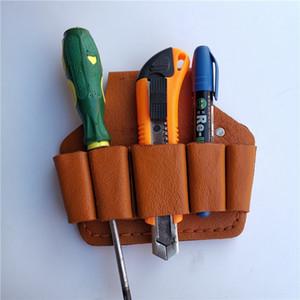 Scissor capa protetora de couro titular bolsa de cobertura Bag Bolsa de tesouras de poda Alicate Scissor Shears Alicates Tesoura KKA8027
