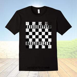 남성 T 셔츠 BJJ 체스 인간 체스 브라질 유술 최고 품질 Costum 패션 참신 짧은 T 셔츠 여성