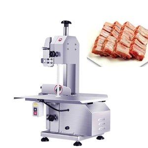 Новый электрический Bone пильный станок для резки рыбы из нержавеющей стали Коммерческие Meat Bone Cutter 110V / 220V