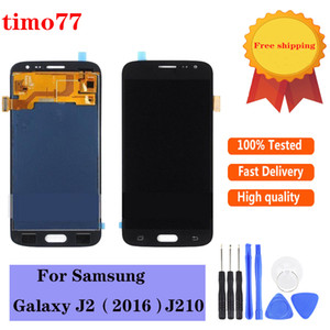 Super OLED High Quality Touch Panels 5.0 inch screen For Samsung Galaxy J210 J2 LCD Display Digitizer Assembly Replacement