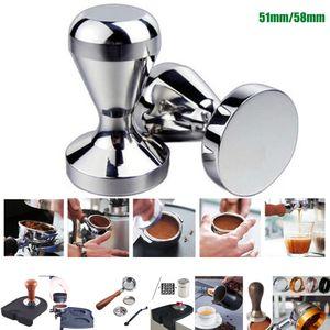 Aluminium Alloy 51mm Tamper Handmade Coffee Pressed Powder Hammer Espresso Maker Cafe Barista Tools Machine Accessories
