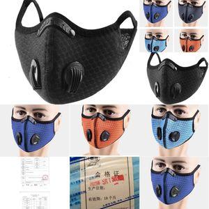 Masque Sports de plein air face Dhl bateau! Vélo Formation PM2,5 Anti-pollution Masque Courir ActiE950 3 F701