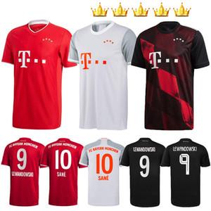 Hombres Niños + kits 2020 2021 Bayern Munich 20 21 SANE COUTINHO camiseta de fútbol Lewandowski HERNANDEZ COMAN MULLER camiseta de fútbol camisetas MUNCHEN