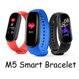 M5 Smart Bracelet Watch Fitness Tracker Smart band wristbands With Magnetic Charging ip67 Waterproof 13 Languages Translation Vs A1 Y68