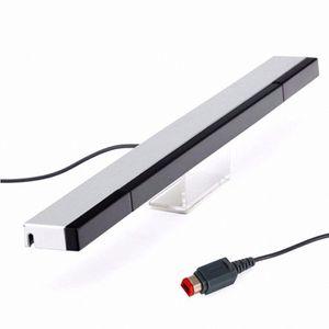 W-I-I Wired Infrared IR Signal Ray Sensor Bar Receiver for Nintendo for Wii U WiiU Remote