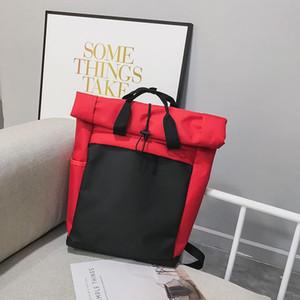 Дизайнер-конструктор Новый рюкзак Hot Brand School Двойной Shoulde сумка способа высокого качества Tide школа рюкзак
