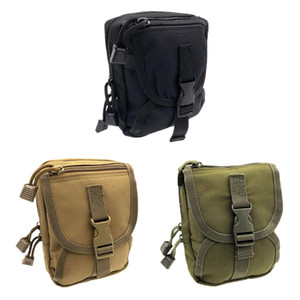 Outdoor sports small pockets Multi-functional tactical storage accessory bag waist pouch