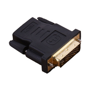 300pcs HDMI to DVI Converter 24+5 Male Female Adapter Gold Plated 1080P DC1A for HDTV LCD DVI-I Extender Cable