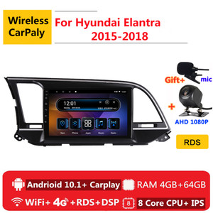 2 din 8 core android 10 car radio auto stereo for Elantra 6 2020 2020 navigation GPS DVD Multimedia Player car dvd