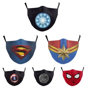 Маска для лица Мстители 4 Endgame Superhero Танос Cosplay взрослых Маски Хлопок Полный Head Halloween Party Костюм Реквизит для взрослых