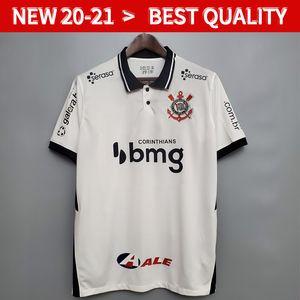 20 21 Corinto Club Corinthians brasileiros Mens Futebol Jerseys 19 20 nova casa longe 3ª SOCRATES JADSON BALBUENA futebol camiseta Fardas