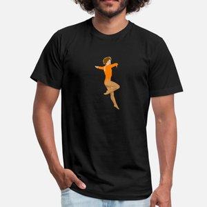 Ballerine Ballett danse danseur Tanz Taenzer Yoga12 t shirt homme personnalisé 100% coton O Neck Outfit Lumière du soleil du bâtiment été standard